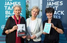 Lindsey Hilsum, Sally Magnusson and Olivia Laing