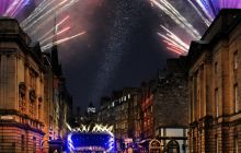 Edinburgh Light Night - Royal Mile
