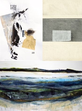 Two Figures (Trevor Davies), Interior (Marion Barron), Forth (Ruth Thomas)