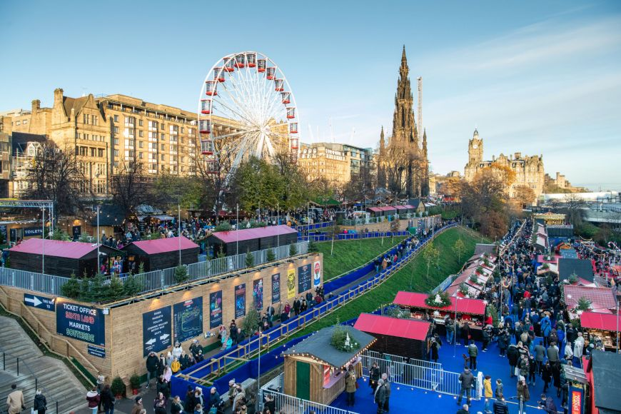 Edinburgh's Christmas Market 2019
