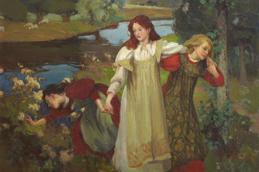 Charles H. Mackie, There were Three Maidens pu'd a Flower (By the Bonnie Banks o' Fordie)