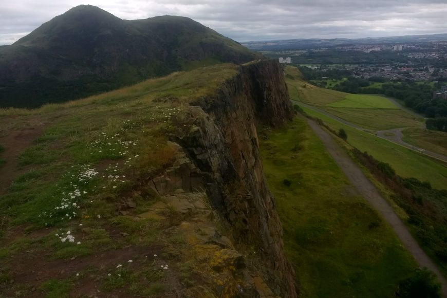 Salisbury Crags and Holyrood Park