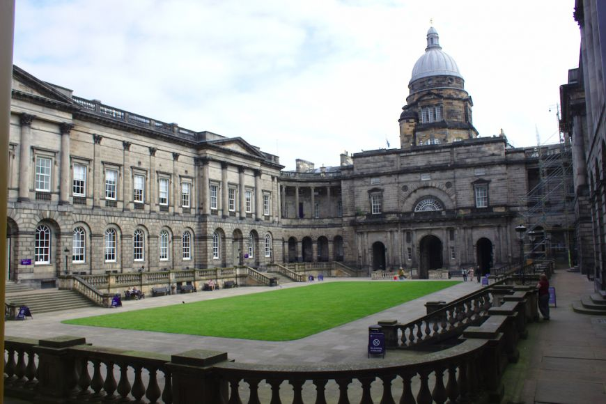 Edinburgh University Old College Quadrangle