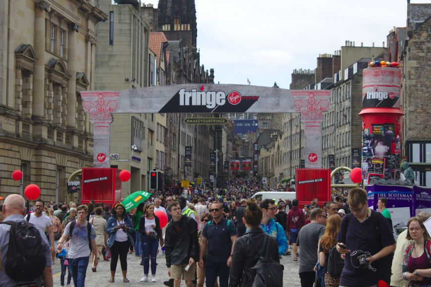 Virgin Money Fringe Festival Arches 2019 - Pre Covid-19