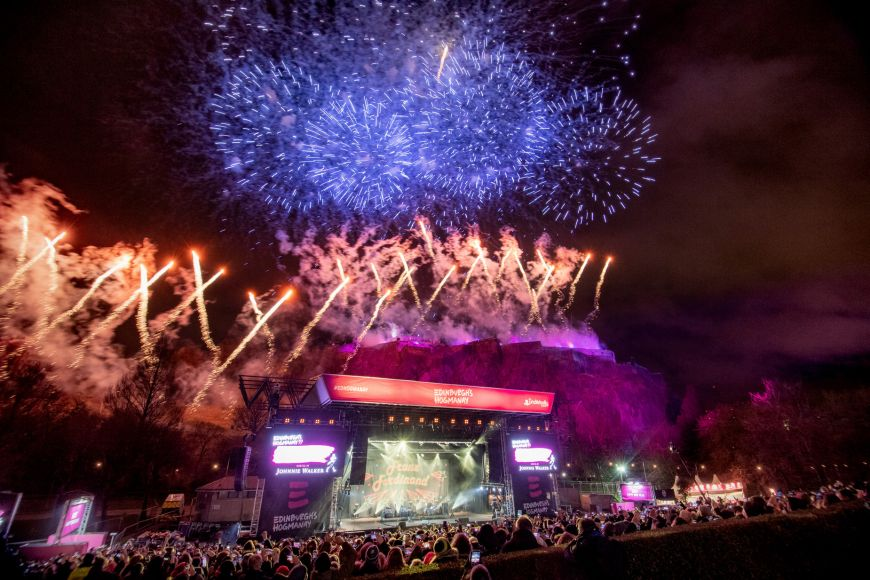 Edinburgh's Hogmanay Midnight Moment 2019