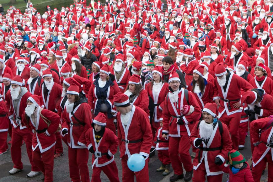 Edinburgh Santa Run