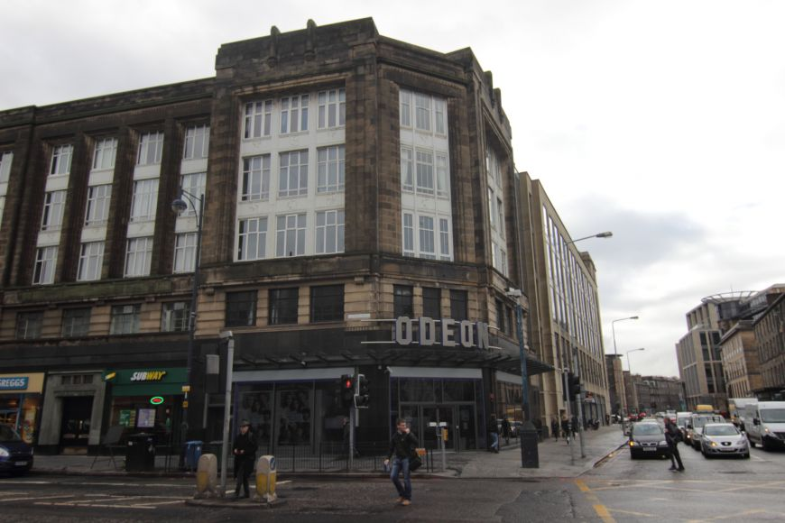 Odeon Lothian Road from across road