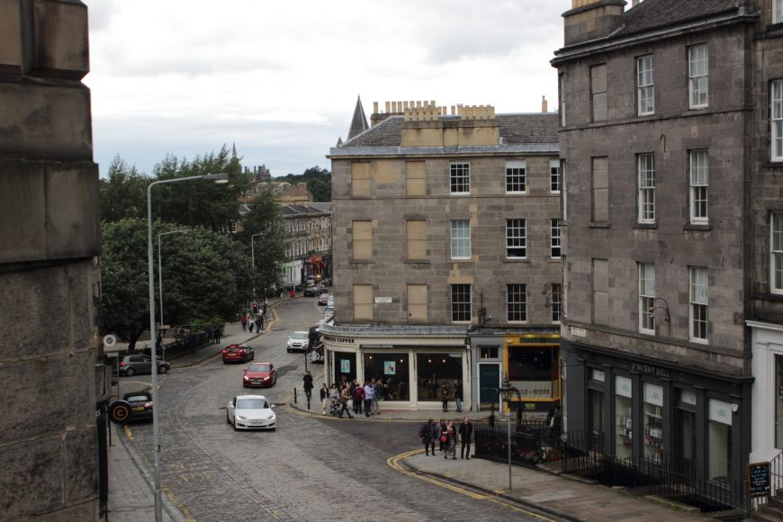Stockbridge - view of NW Circus Place