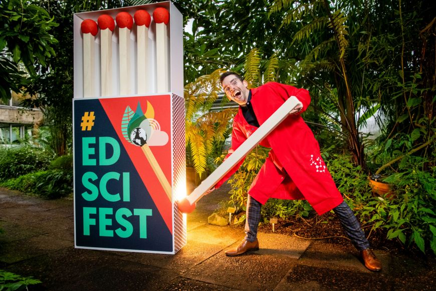 Edinburgh Science Festival 2020 Launch